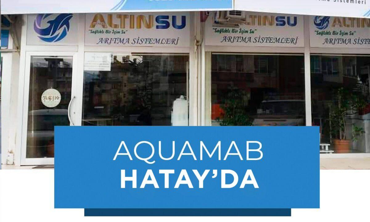 Aquamab Hatay'da