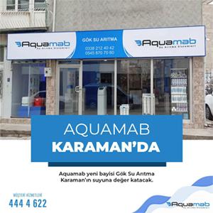 Aquamab Karaman'da
