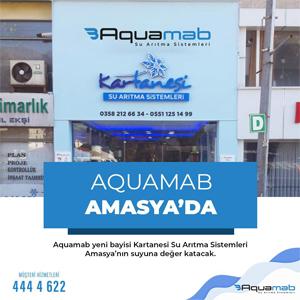 Aquamab Amasya'da