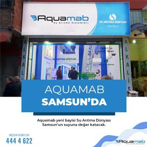 Aquamab Samsun'da