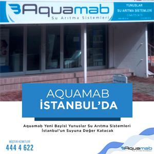 Aquamab İstanbul'da