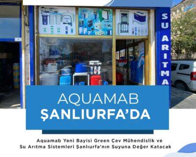 Aquamab Şanlıurfa'da