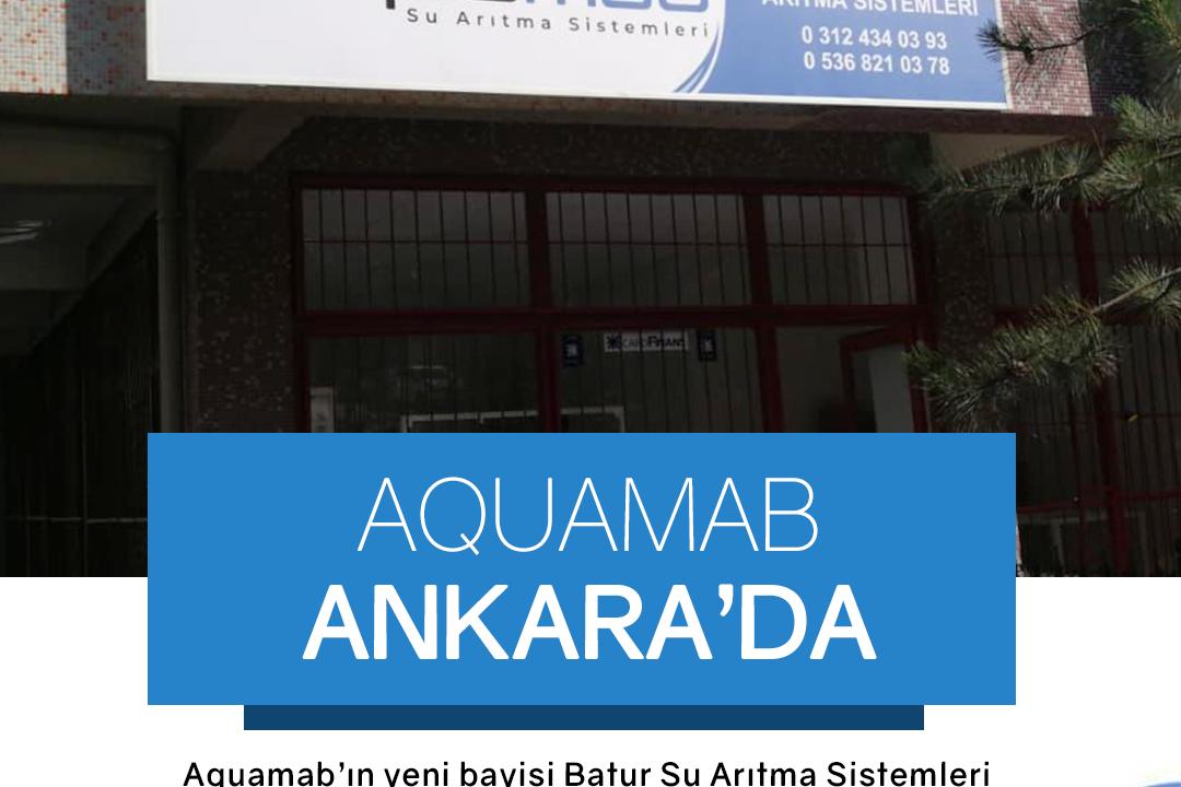 Aquamab Ankara'da